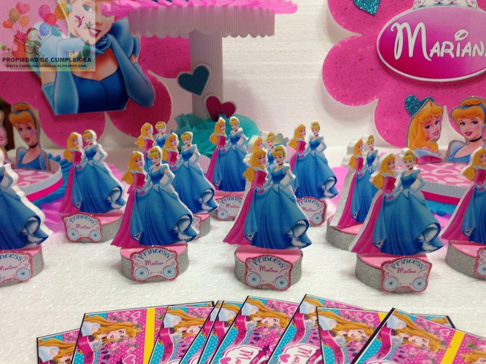 decoracion de cumpleaos infantiles de princesas imagui