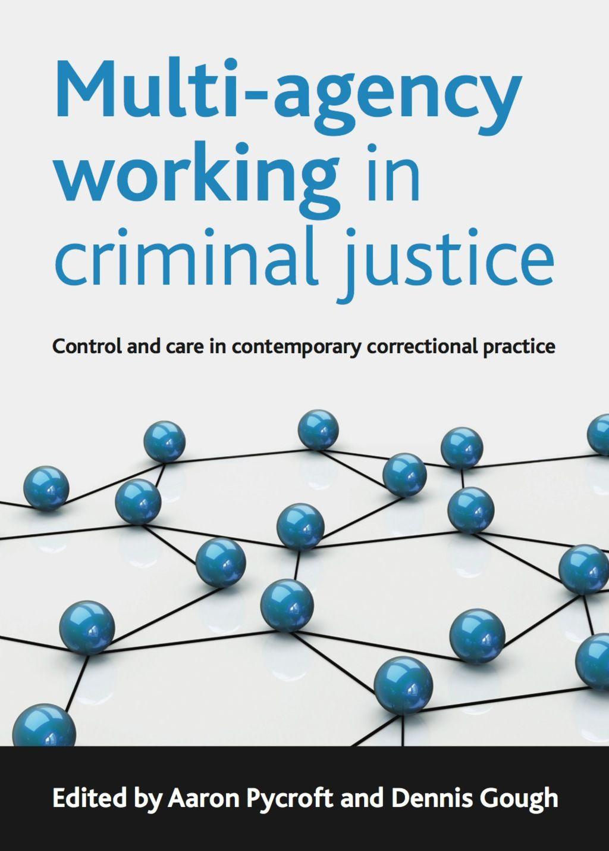 Multi Agency Working In Criminal Justice Ebook