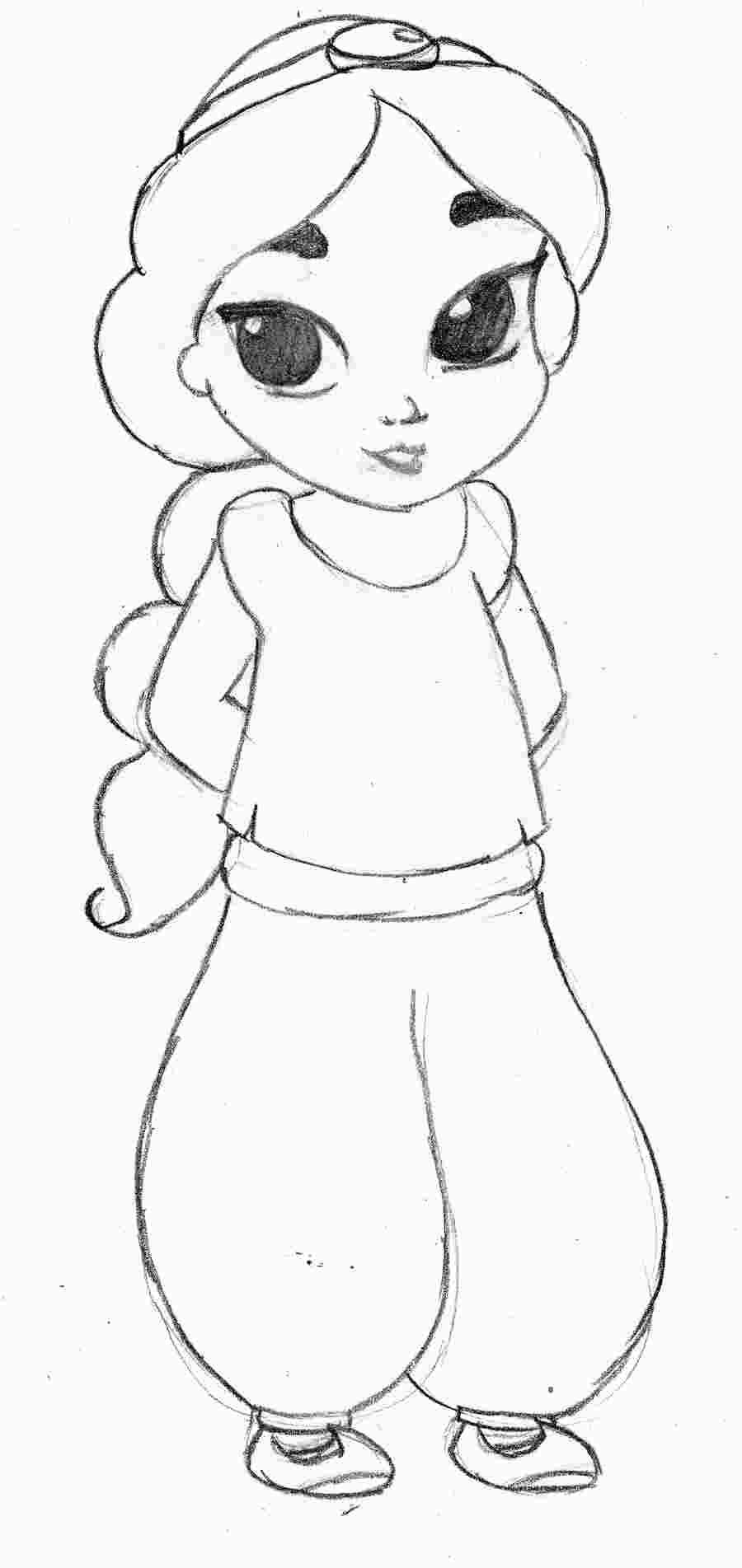 Baby Princess Jasmine Coloring Pages Disney Princess Drawings Disney Princess Jasmine Disney Princess Coloring Pages
