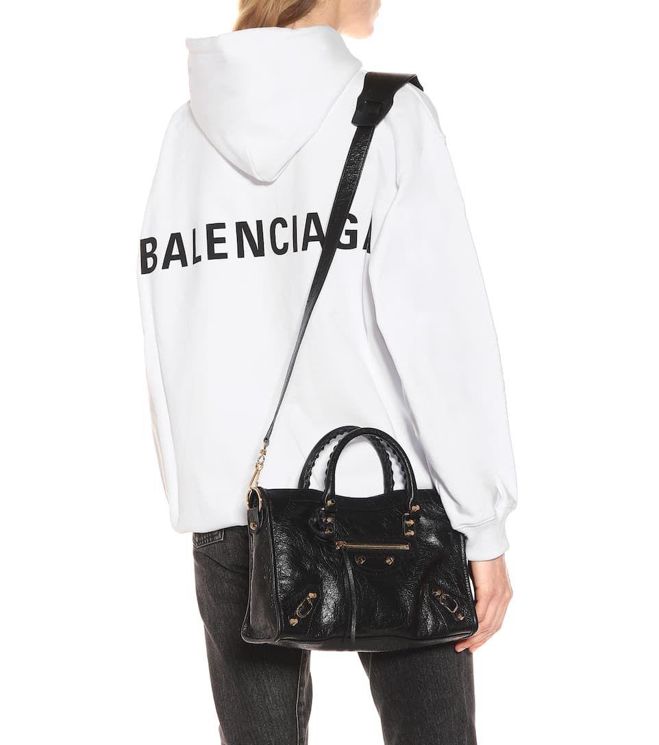 Balenciaga - Classic City S leather