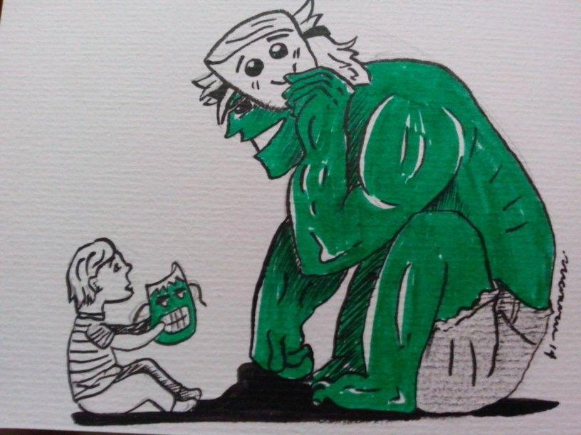 #hulk #ilustracion #art #15dayschalenge