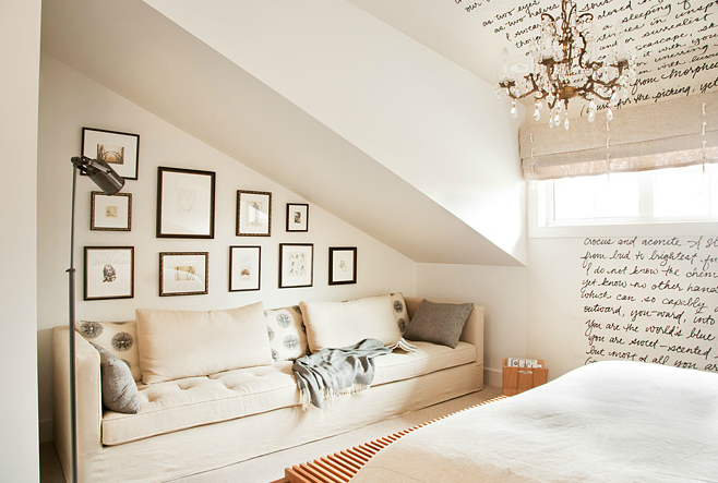 How To Decorate A Bedroom That Has A Sloped Roof Lounge