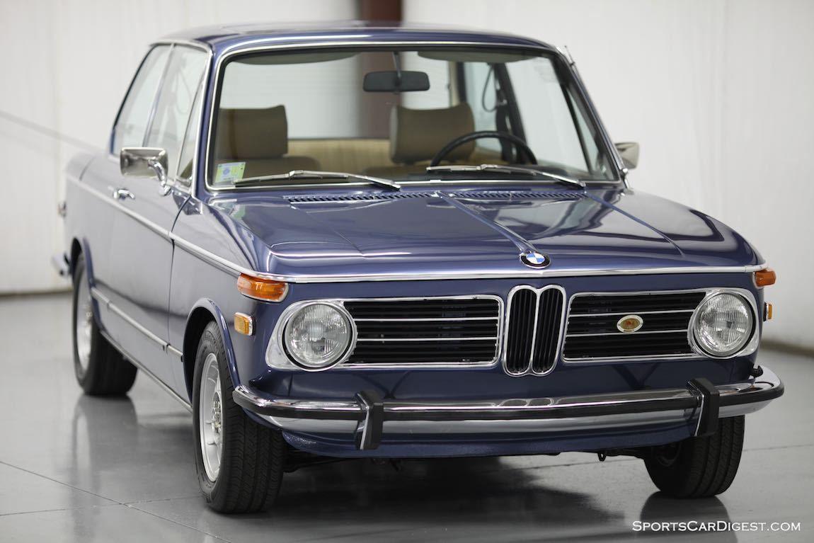 Sports Car Digest S 1973 Bmw 2002 Tii For Sale Bmw 2002 Tii Bmw 2002 Bmw