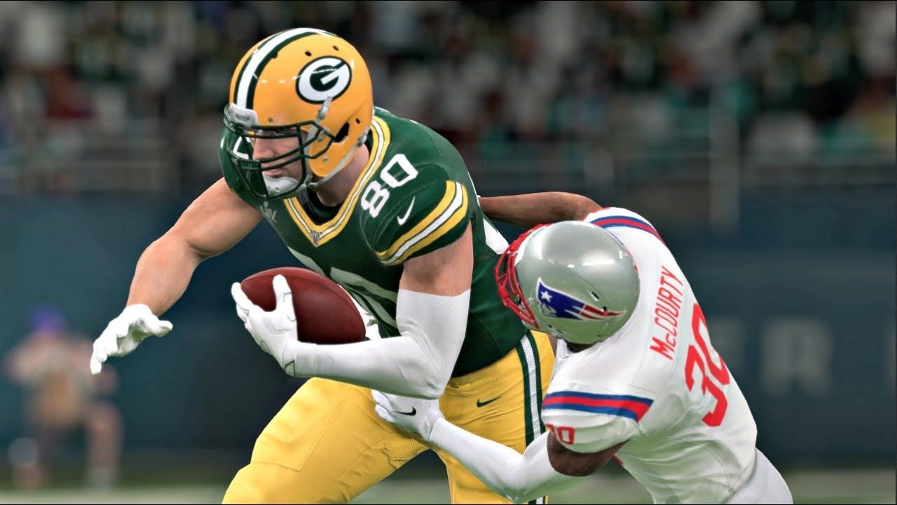 Madden 20 Super Bowl Xxxi Rematch New England Patriots Vs Green Bay Packers Madden Nfl 20 New England Patriots Madden Nfl Green Bay