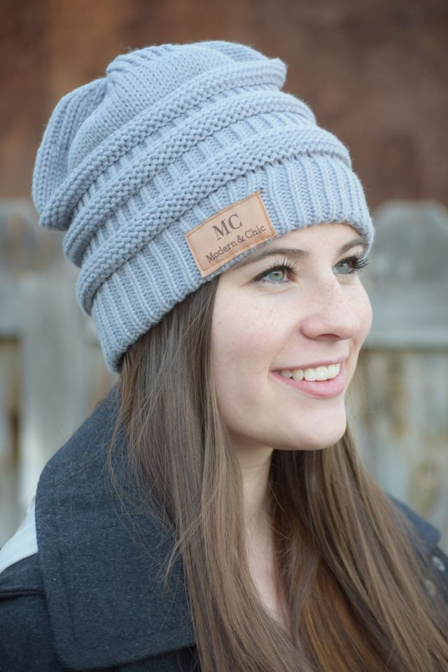 c202d54d3b7c81 Keep warm in style this season! Modern and Chic's own best selling beanie  cap is