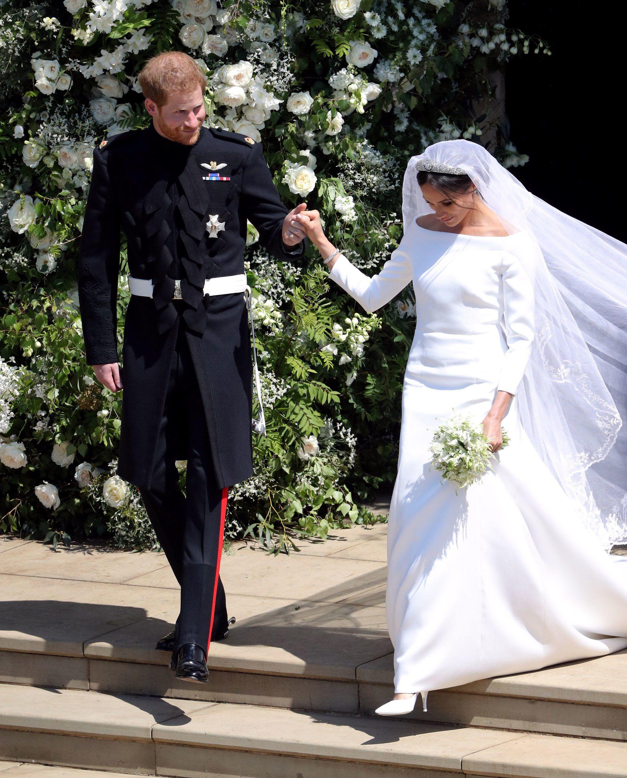 Meghan Markle's Breathtaking Wedding Dress Surpassed All