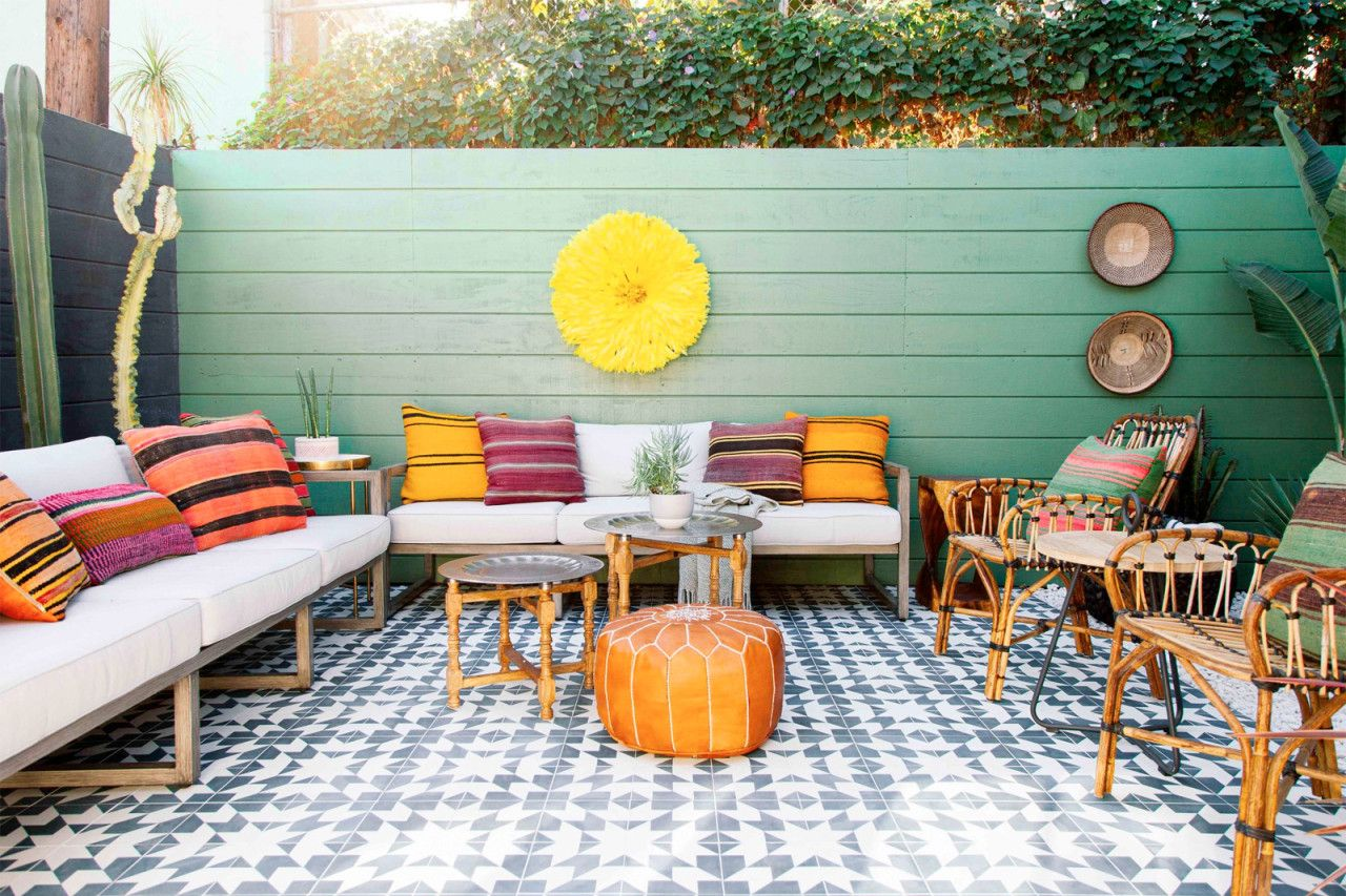 I Really Can T Deal Patio Problems Solved Colorful Patio