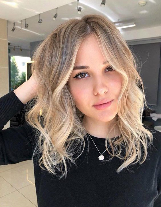 The Best Medium Blonde Hair Color & Hairstyles for Girls ...