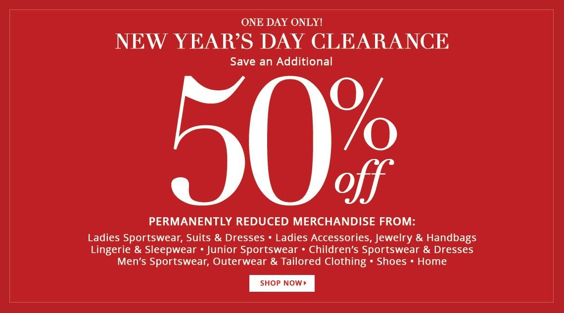 f4f2d35626a Bargain - Additional 50% OFF - New Year`s Day Clearance @ Dillards ...