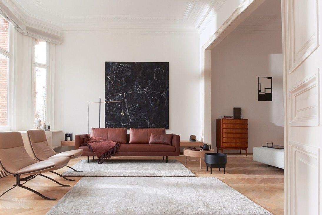 Moderne Leren Design Bank.Eyye Etcetera Bank Cognac Leren Bank Modern Interieur