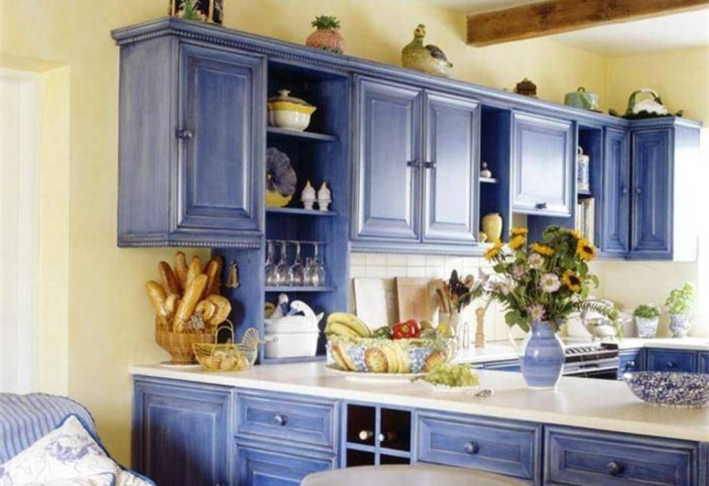 Kitchen Cabinet Painting Ideas Red Color And Silver Microwave : Cool Kitchen  Cabinet Painting Ideas