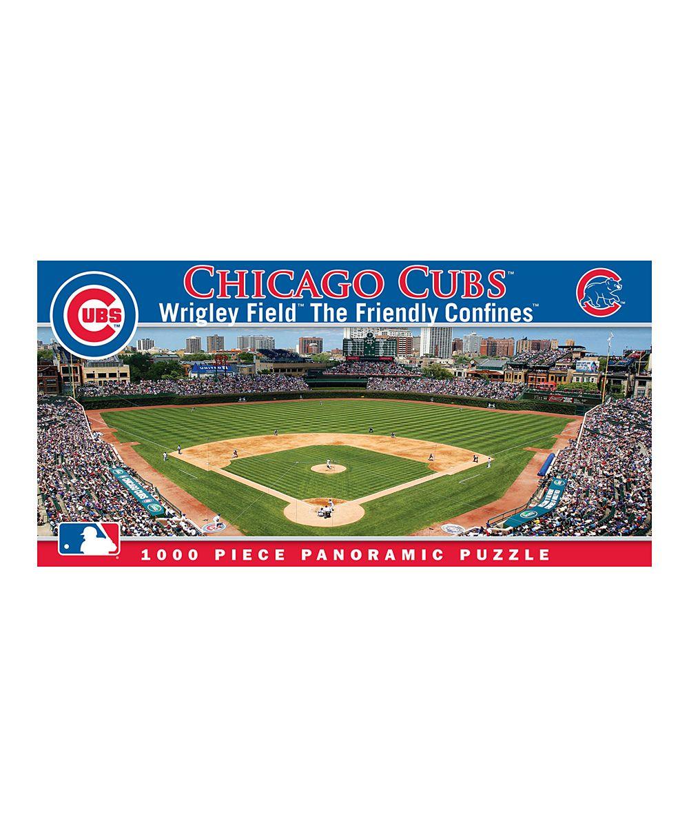 Chicago Cubs Panoramic Baseball Stadium Puzzle Zulily Wrigley Field Mlb Chicago Cubs Chicago Cubs