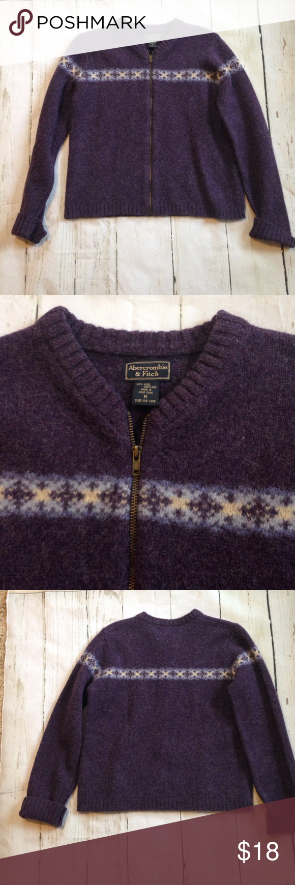 Abercrombie & Fitch 100% Wool Sweater | Wool sweaters, Abercrombie ...