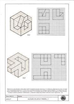 Plantilla Isometrica De Puntos Buscar Con Google Ejercicios De Dibujo Tecnicas De Dibujo Vistas Dibujo Tecnico