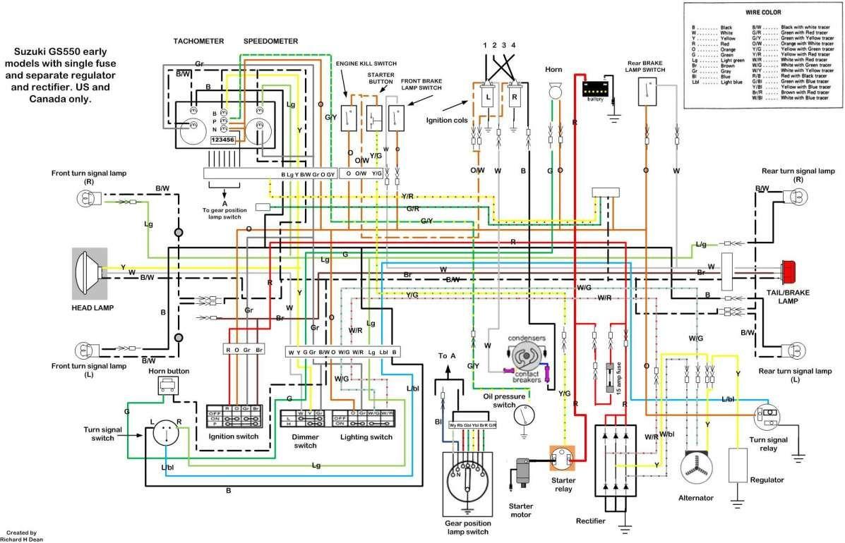 17 Suzuki Motorcycle Wiring Diagram Motorcycle Diagram In 2020