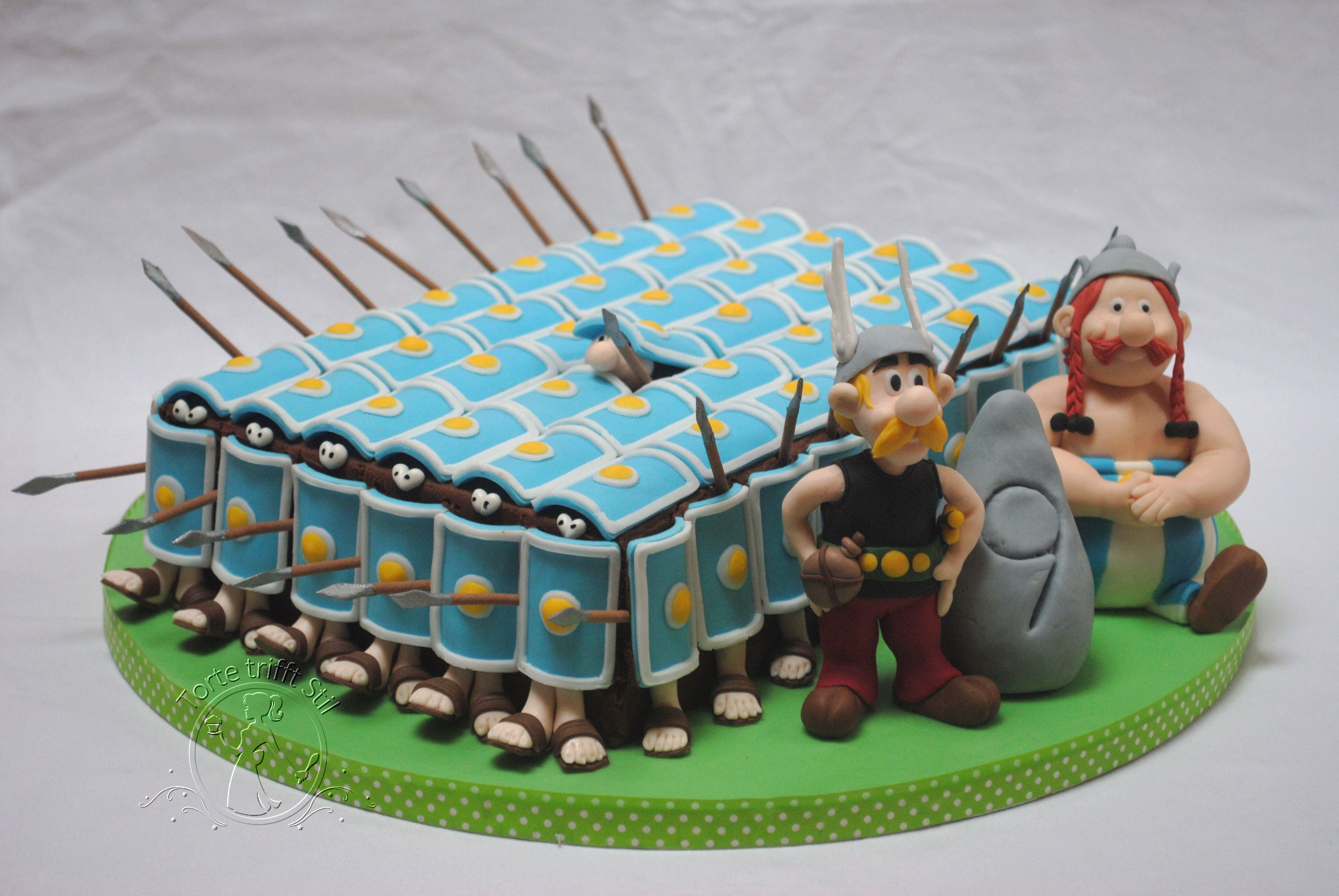 Asterix Und Obelix Themenbezogene Torten Kuchen Und Torten Kindertorte