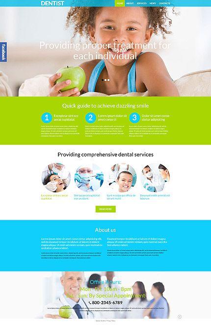 Dental Clinic WordPress Theme | Parallax WordPress Themes ...