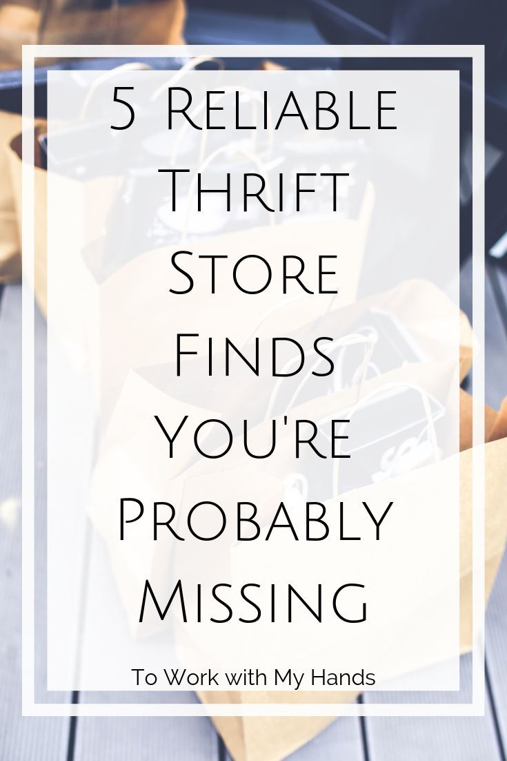 How to Thrift Shop Like a PRO #thriftstorefinds