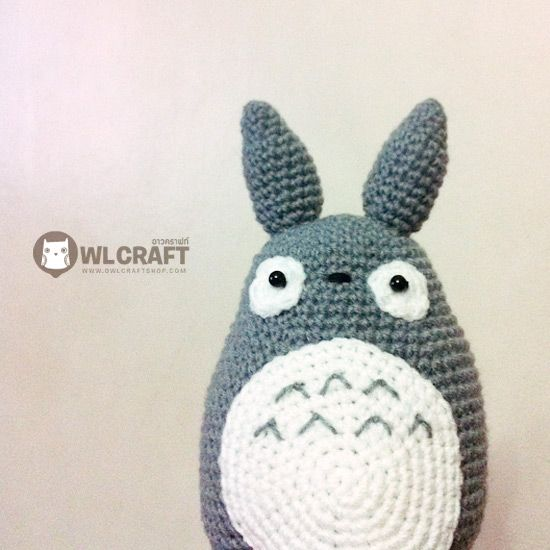 PDF Pattern My Neighbor Totoro Amigurumi Character Doll | Textiles ...