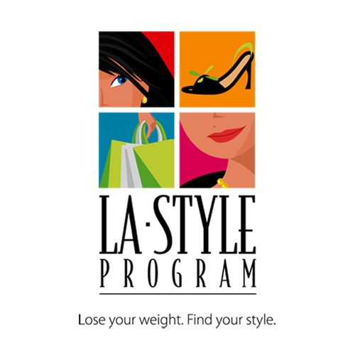 LA Weight Loss fashion program logo