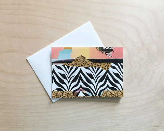 Cute note card set, Pattern Note Cards, note cards with envelopes