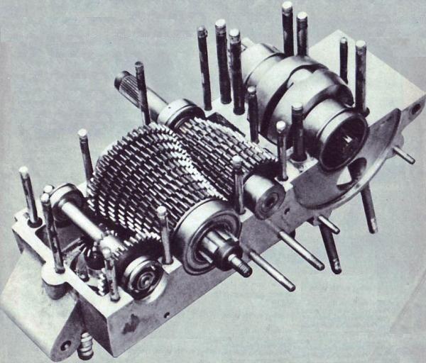 9 Speed Pullstud Transmission
