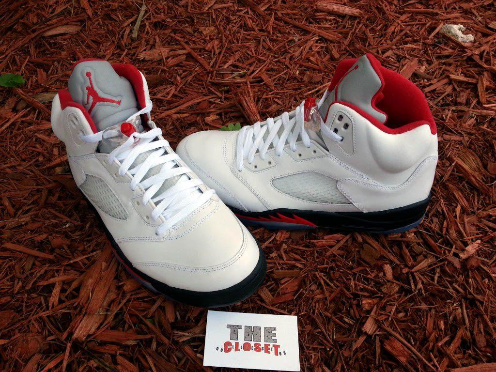 outlet store 4006a 7adec Air Jordan 5 Retro  Fire ...