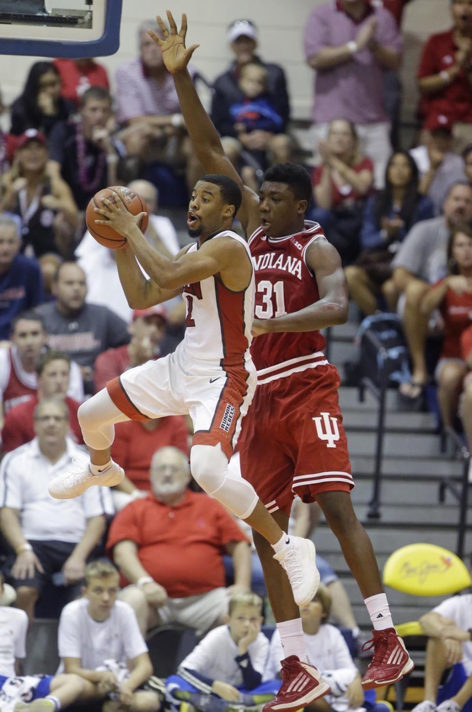 Indiana's Thomas Bryant-- #IUCollegeBasketball