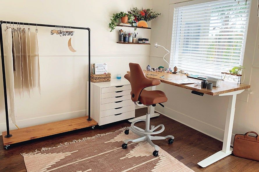 Jarvis Bamboo Standing Desk In 2020 Standing Desk Office Home Office Design Home Office Setup