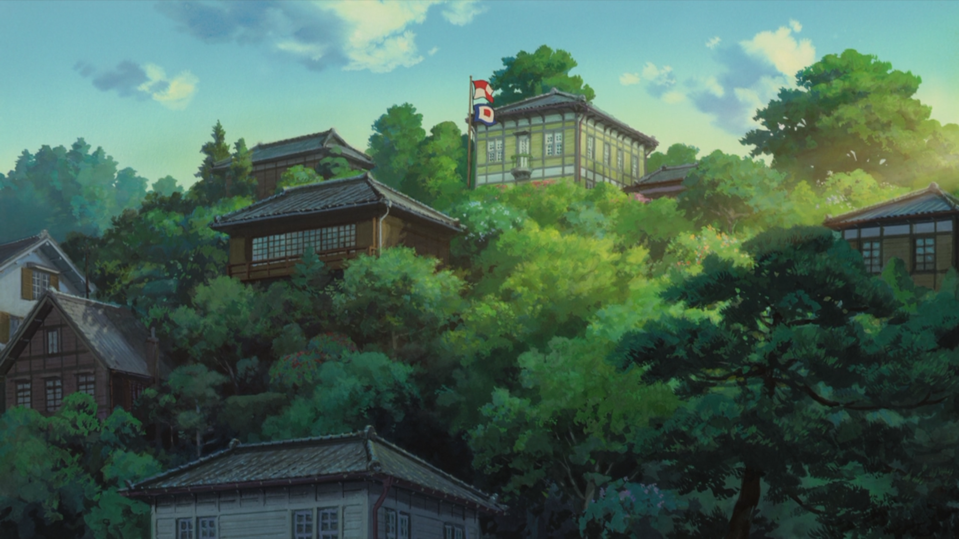 studio ghibli backgrounds!, For portlybibliophile, some