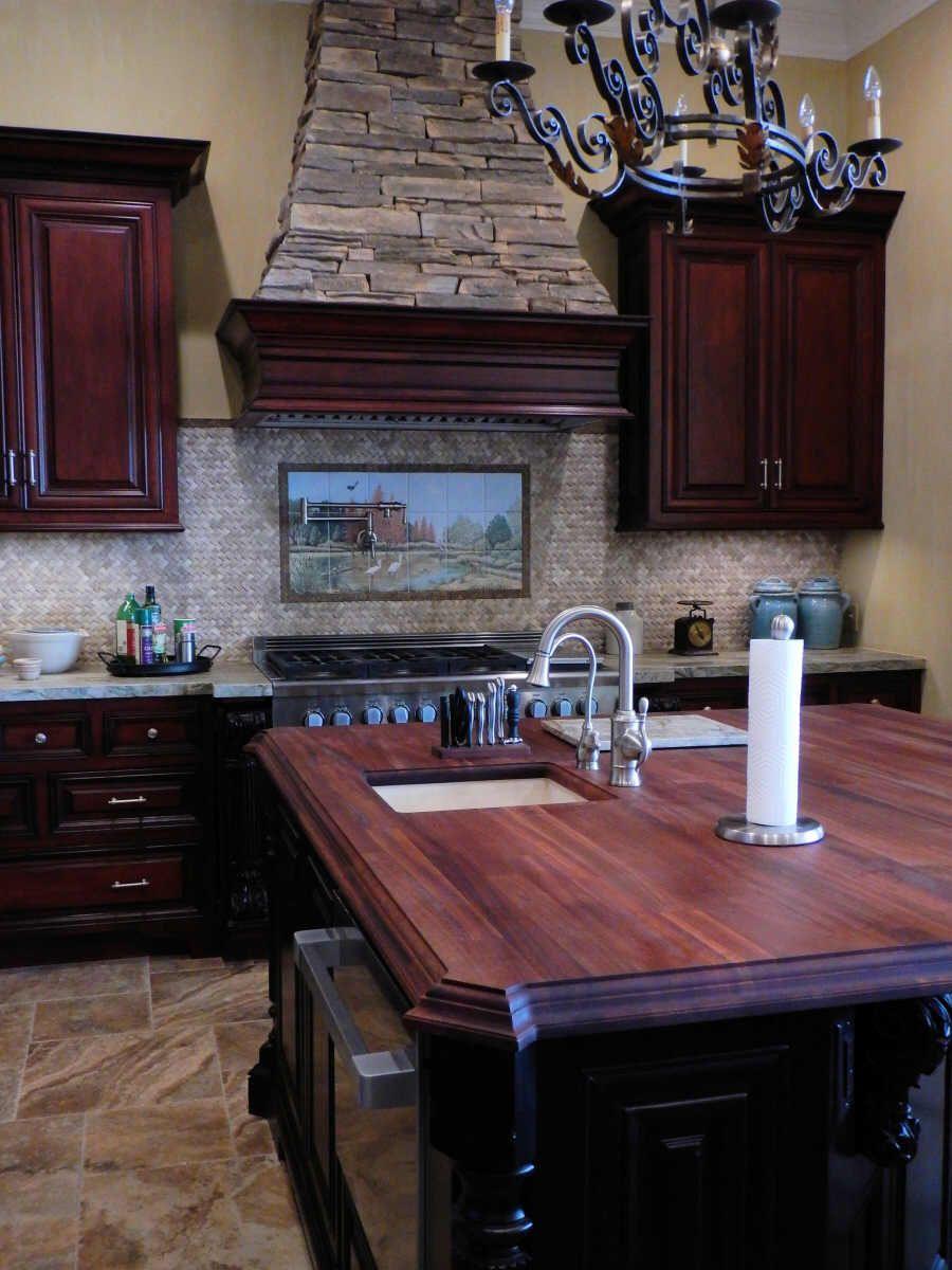Decorative Wall Tile Murals Glamorous Photo Shows Kitchen Decor And Tile Mural With Decorative Border Design Inspiration