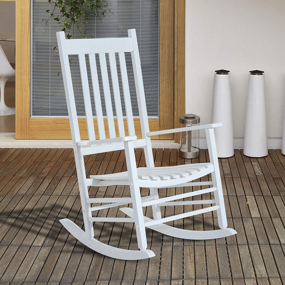 Strange Porch Rocking Chair White Outdoor Rocking Chair Creativecarmelina Interior Chair Design Creativecarmelinacom