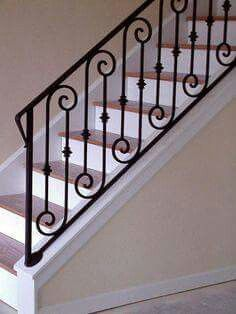 Jeena Design In 2019 Wrought Iron Stair Railing Wrought
