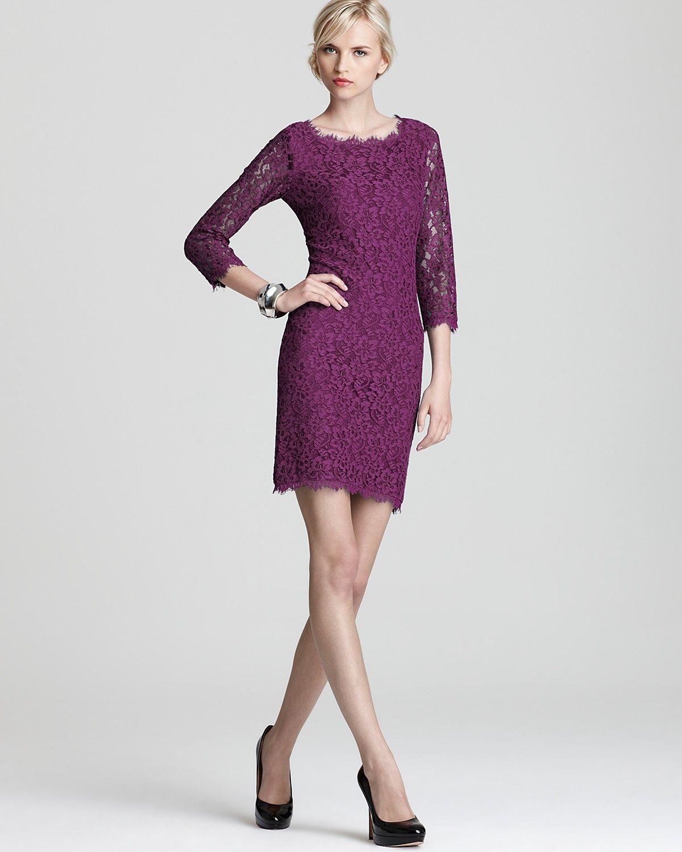 MOH DIANE von FURSTENBERG Lace Dress - Zarita   Bloomingdale\'s   Eat ...