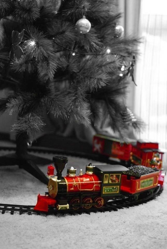 Train Around Christmas Tree