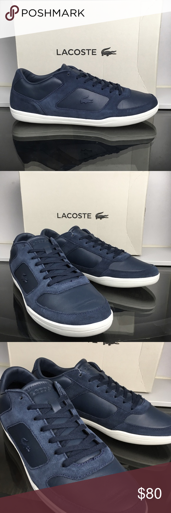 fba20152e5 Lacoste Navy Blue Minimal Men's Brand new and with the original box Lacoste  Shoes Sneakers