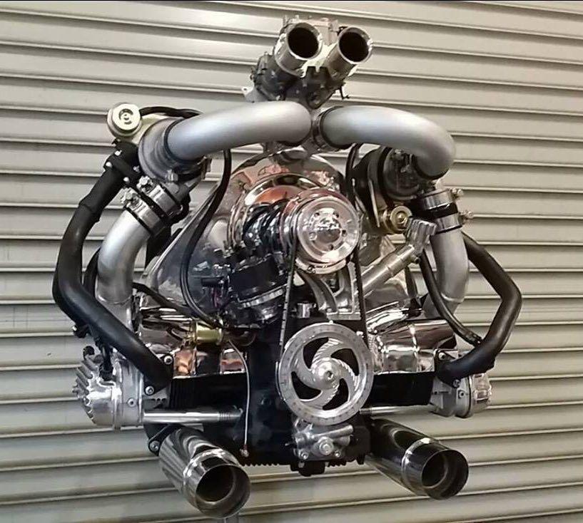 Vw Beetle Used Engine: Motor Vw Boxer Twin Turbo