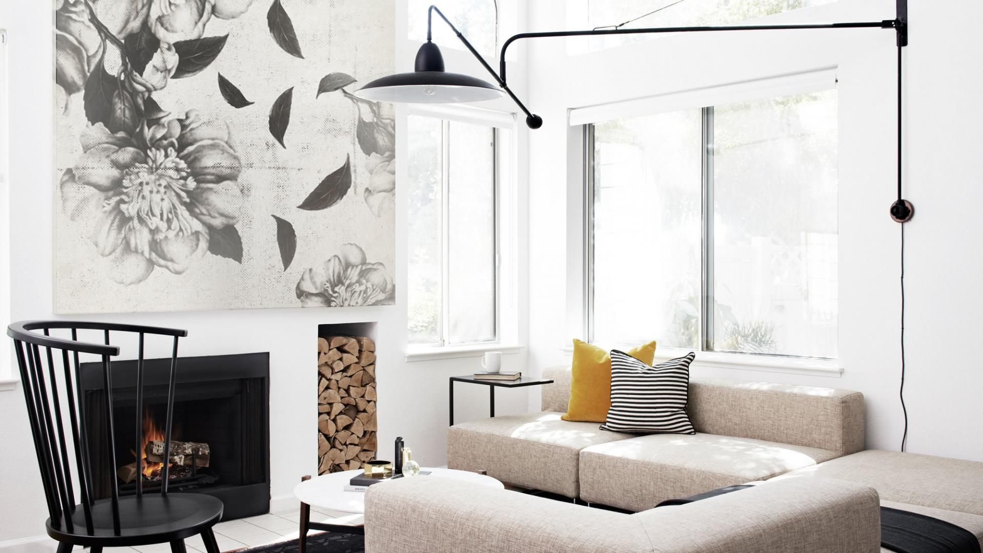 Monochromatic Living Rooms: A Case Study In Style. Photography By Thomas  Kuoh. Designed