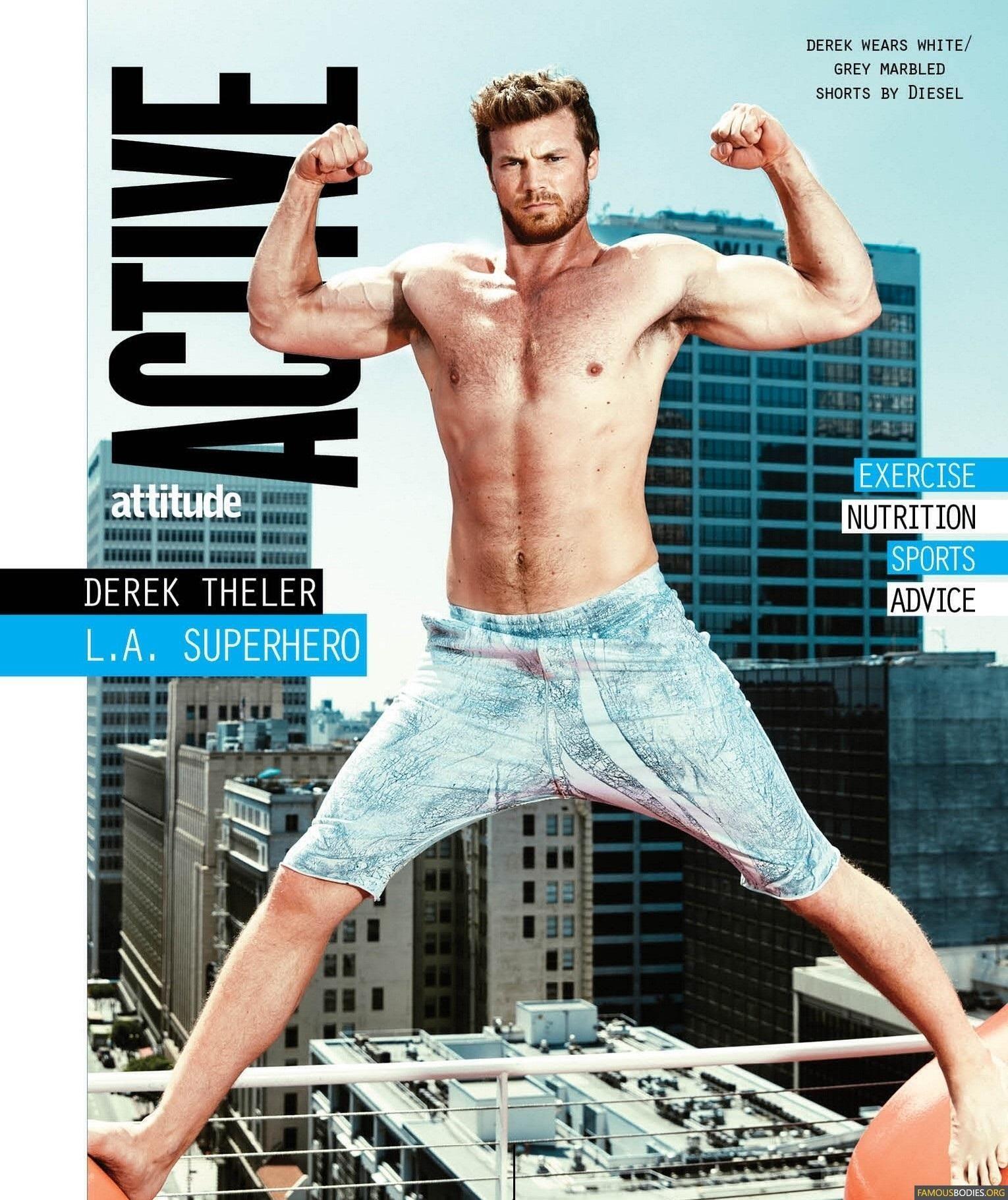 Derek Theler | Derek Th | Derek theler, Shirtless actors, Handsome