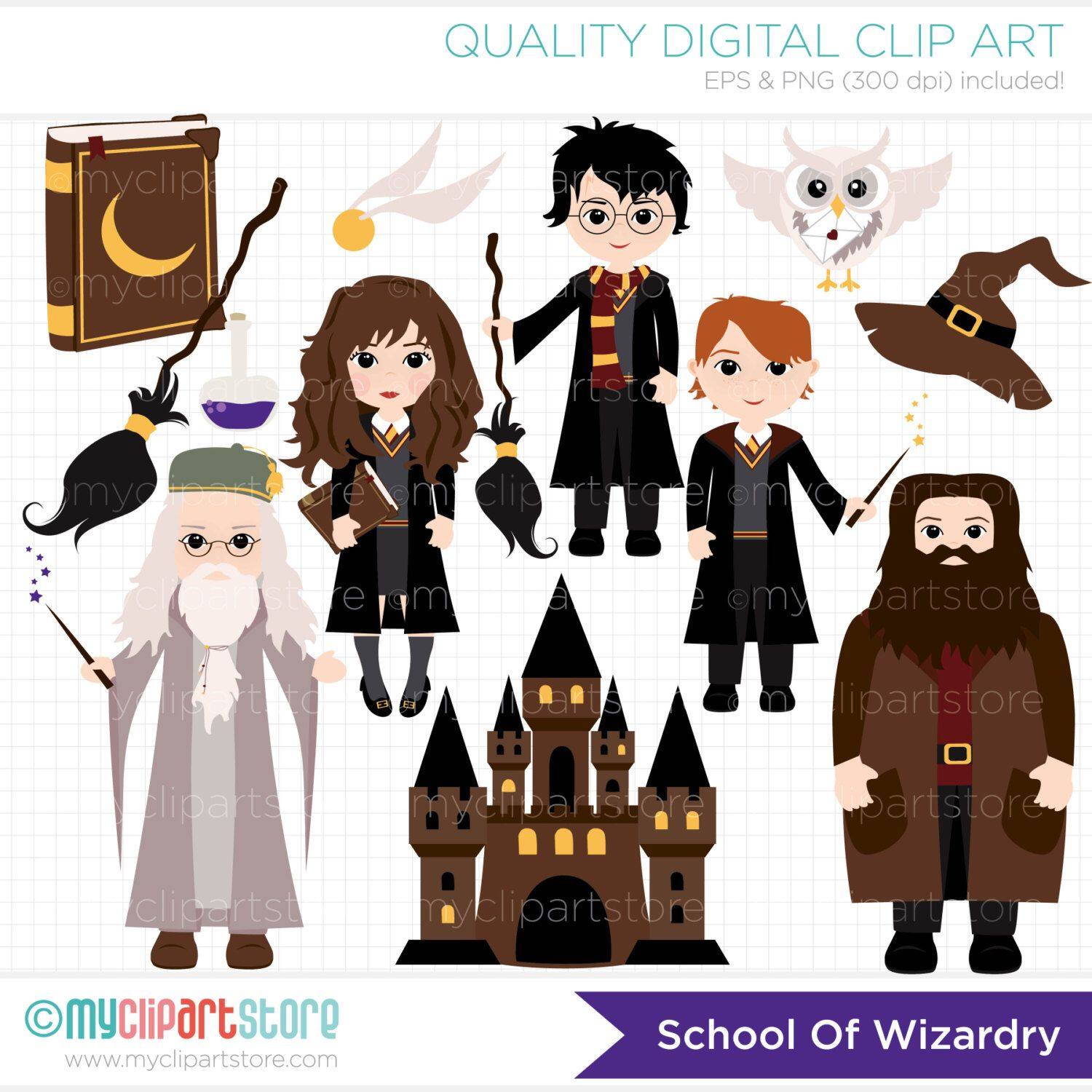 48+ Harry potter clipart characters ideas