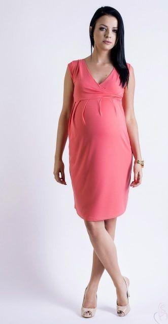 12d53e7b881 Letní šaty pro těhotné nad kolena