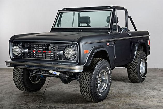 Classic Ford Broncos 4