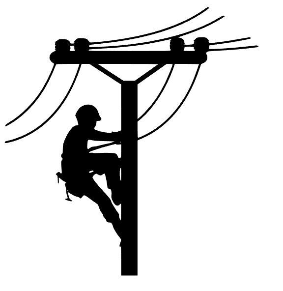 New to FransEverythingShop on Etsy: Lineman Decal (6.00