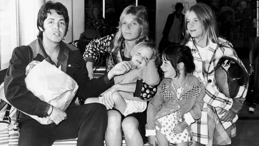 The Former Beatles Singer Paul McCartney Fathered Daughter Beatrice With Ex Wife Heather Mills When He Was 61 Here Is Pictured His First