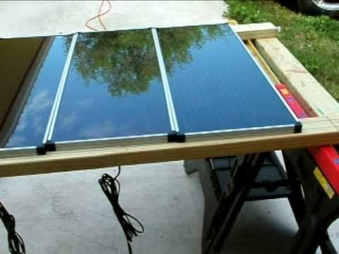 How To Install Harbor Freight Solar Panels Part 1 Solar Energy Diy Solar Power Diy Solar Panels