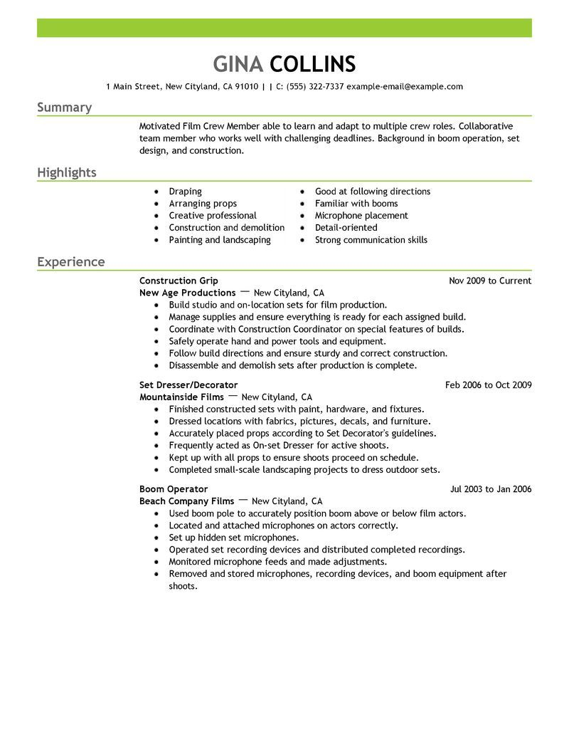 media production resume sample http jobresumesample com 1039