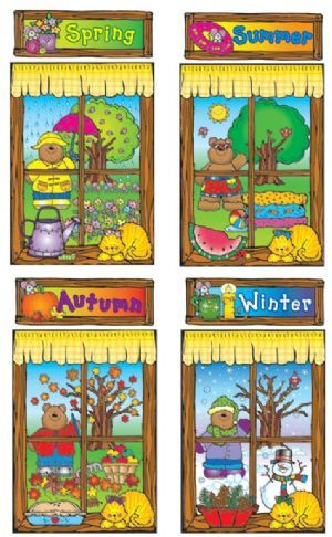 Four Seasons Wall Display Nursery