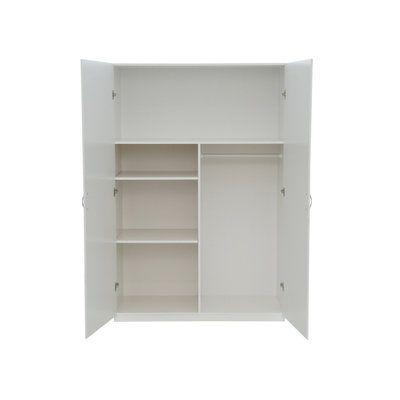 Closetmaid 48 In Multi Purpose Wardrobe Cabinet In White 12336