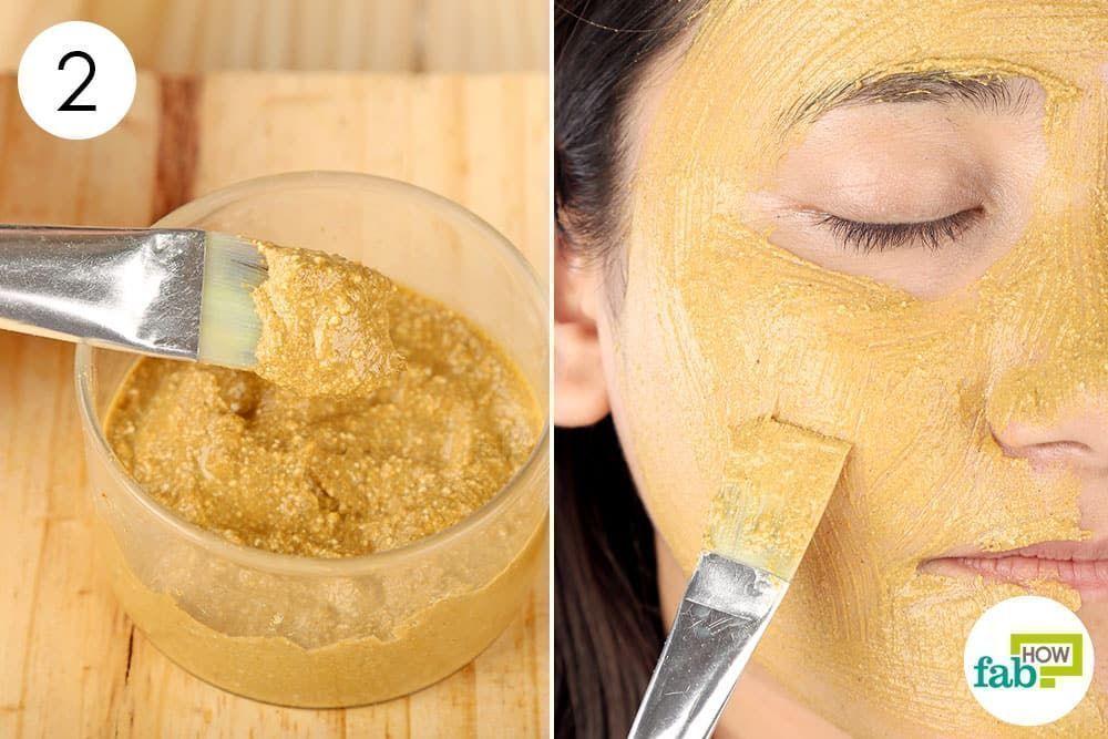 Wenden Sie diese Gesichtsmaske 3 bis 4 Mal pro Woche an um eine glatte strahlende Haut zu erhalten die bis