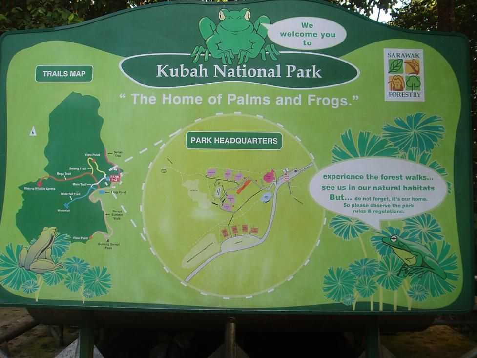The Kubah National Park Is Located About 20 Kilometres From Kuching And One Of Sarawak S Most Accessible National Par Sarawak Forestry